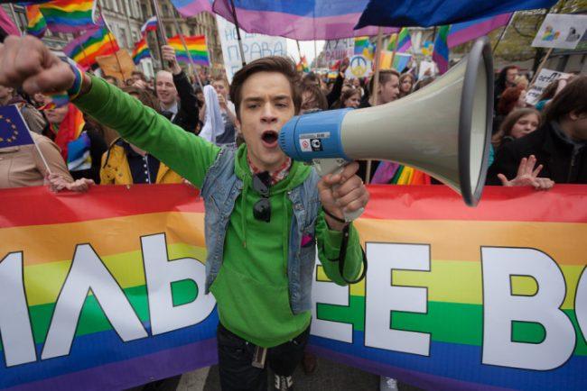 3-01.05.2014 - первомай 2014 колонна ЛГБТ