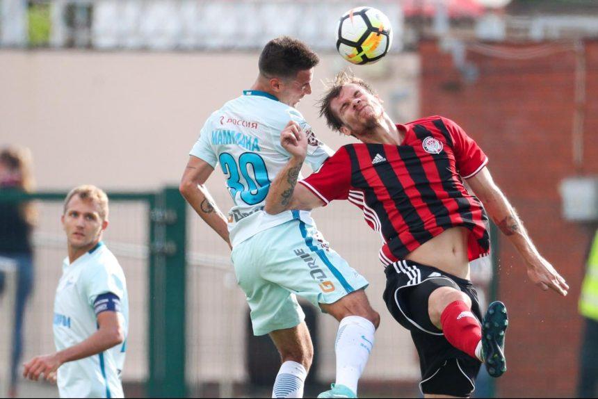 Амкар - Зенит футбол