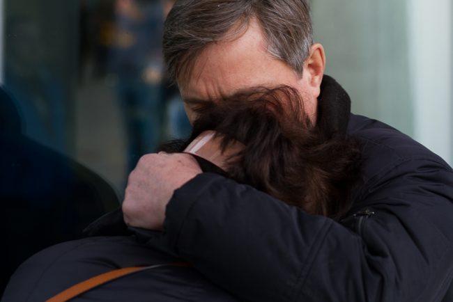 58-31.10.2015 - родственники жертв теракта на рейсе Шарм-эль-Шейх - Петербург
