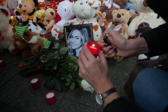 59-01.11.2015 - мемориал жертвам теракта на рейсе Шарм-эль-Шейх - Петербург в Пулково
