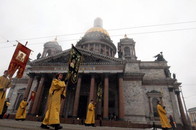59-19.02.2017 - крестный ход вокруг Исаакия в День православной молодёжи