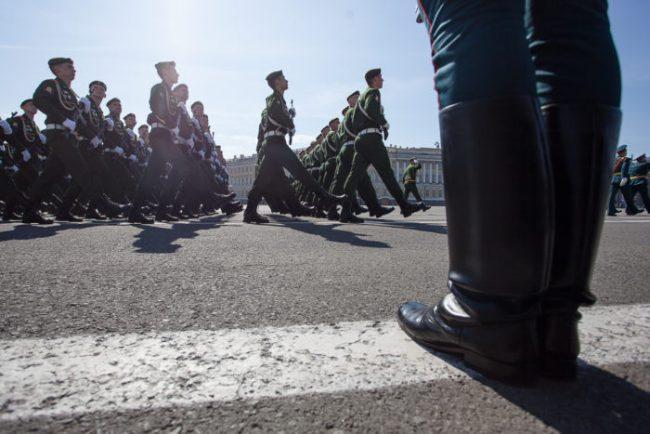 71-09.05.2016 - парад на Дворцовой площади в День Победы