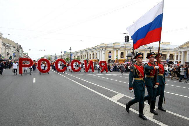 77-12.06.2017 - день России фестиваль цветов на Невском проспекте