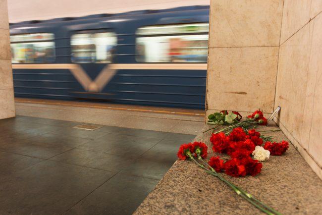 97-04.04.2017 - на станции Технологический институт на следующий день после теракта в метро
