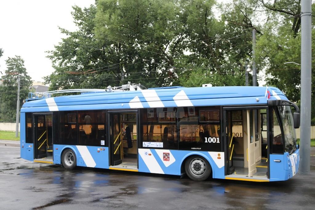 горэлектротранс троллейбус с увеличенным автономным ходом