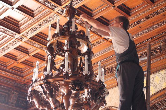 Юсуповский дворец Дубовый зал