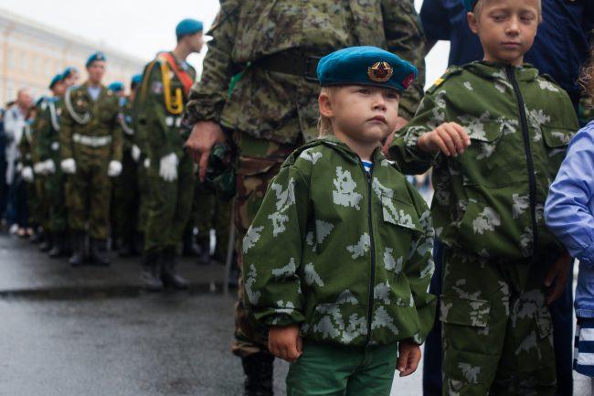 день вдв десантники тельняшки дети