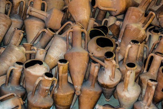 амфоры керамика археология клад