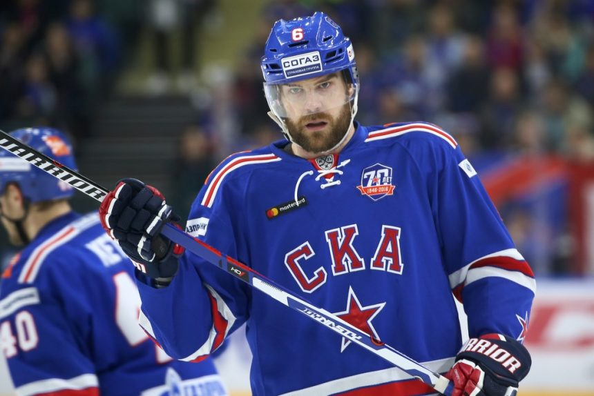 КХЛ хоккей СКА Патрик Херсли