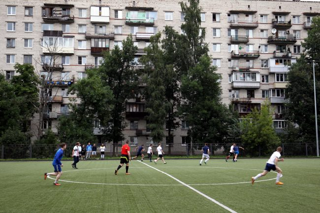 дворовый футбол спорт football-I63F1467