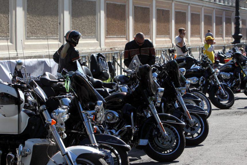 мотофестиваль harley days байкеры мотоциклисты