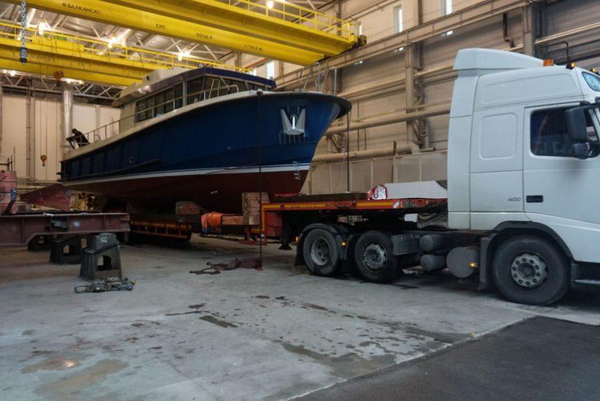 судостроение кораблестроение средне-невский судостроительный завод снсз катер рондо