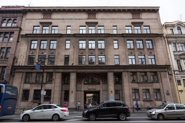 блокадная школа 210 невский 14 сталинский неоклассицизм skoli_blokadnaya. -4