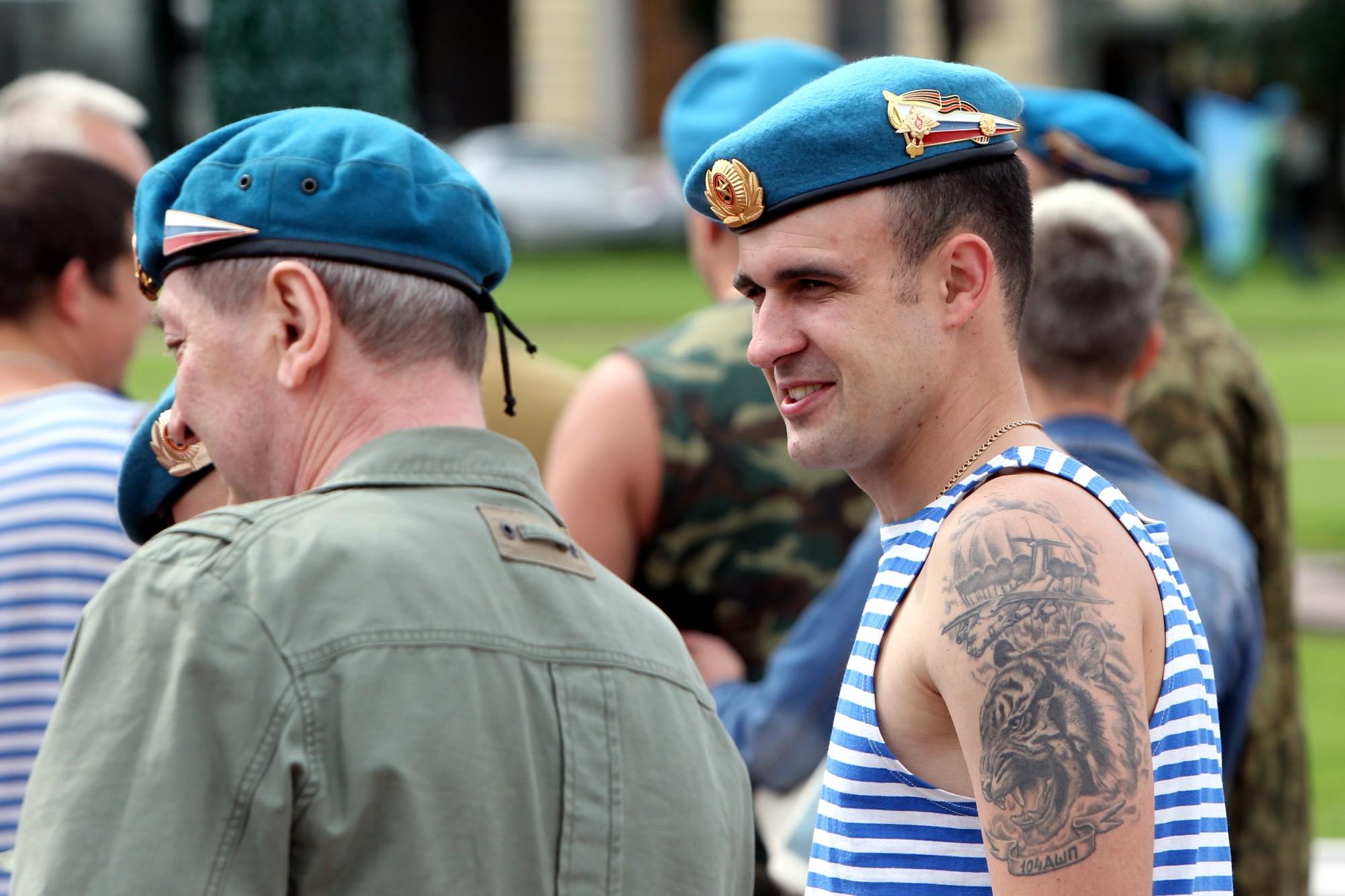 Фото тату у десантников
