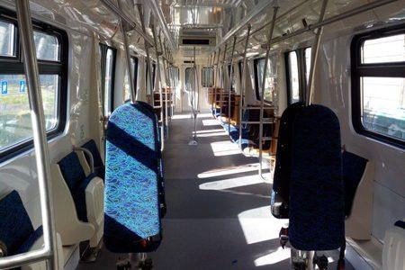 поезд состав метро салон