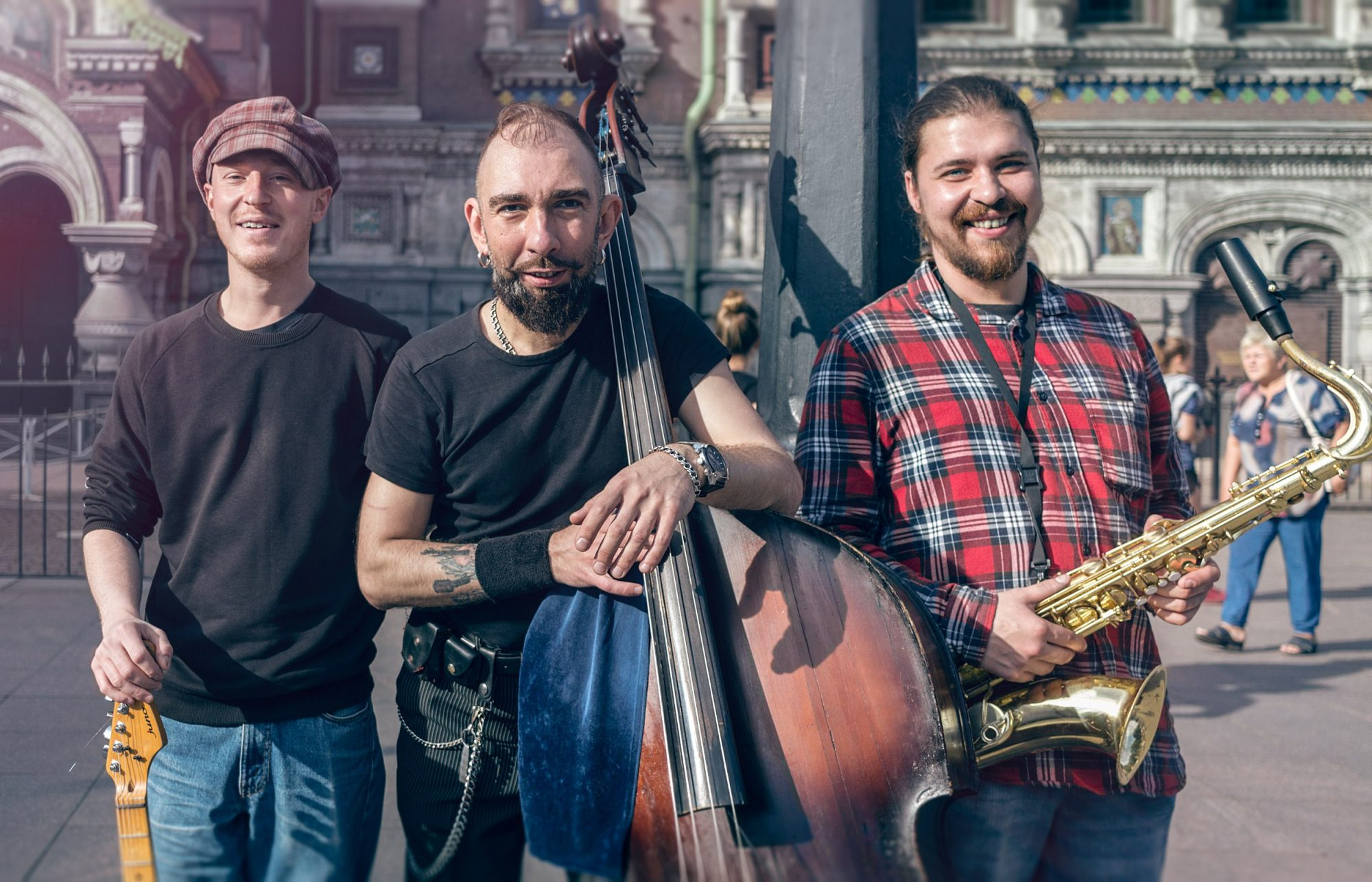 Уличные музыканты Санкт-Петербурга
