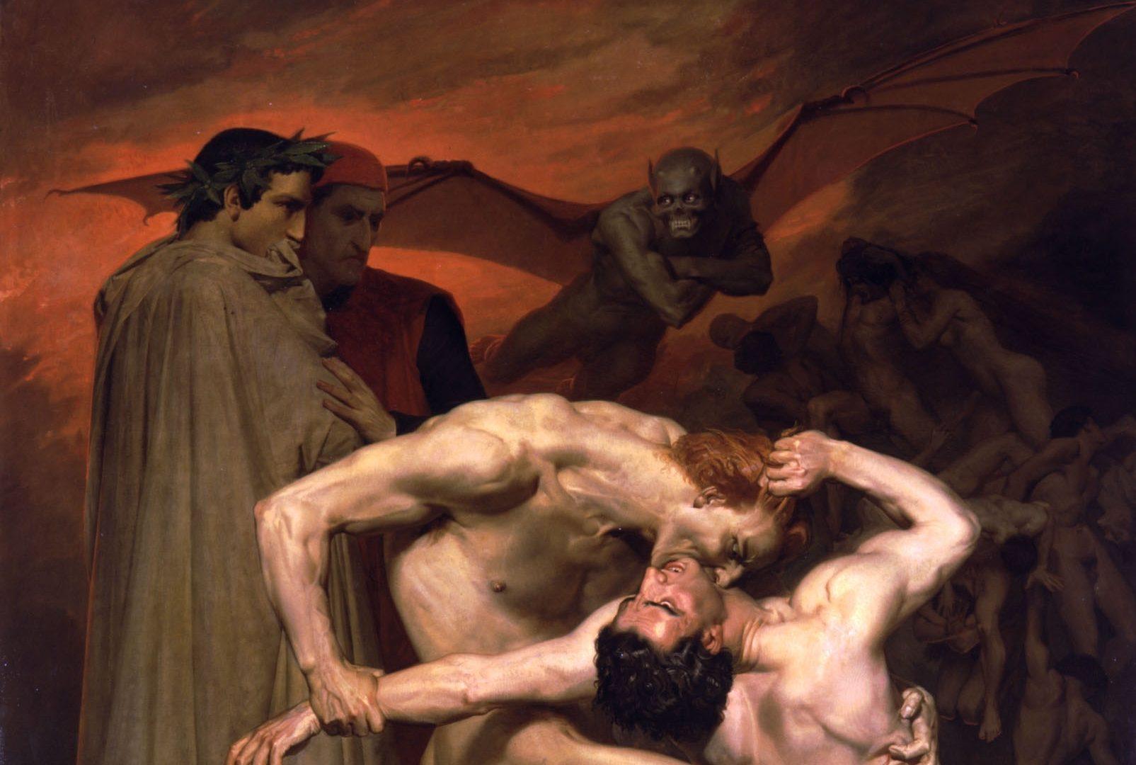 Вильям Адольф Бугро, Вергилий и Данте в аду