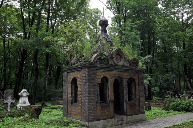 склеп новодевичье кладбище