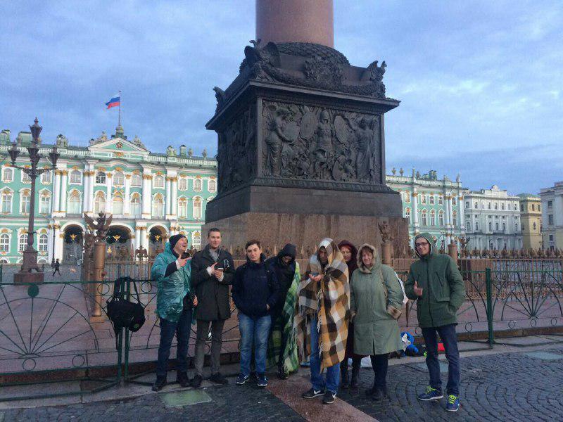 протестная акция оккупай дворцовая площадь