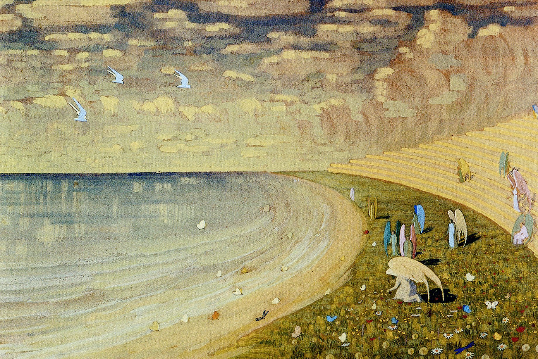 Чюрлёнис.Рай.1909