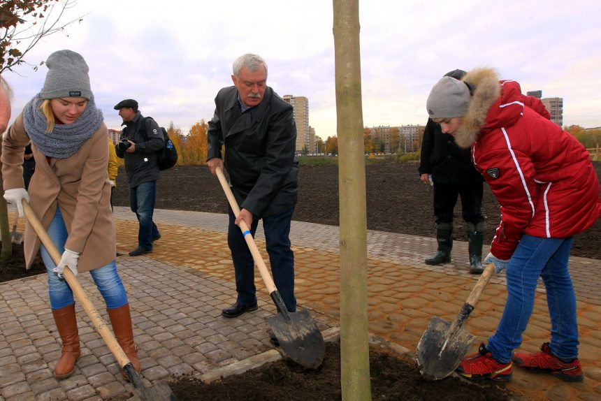 день благоустройства муринский парк георгий полтавченко губернатор