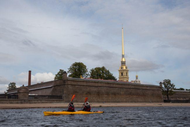 петропавловская крепость каяк байдарка