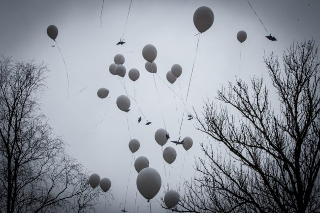 памятник сложенные крылья теракт на синайском полуострове серафимовское кладбище воздушные шары