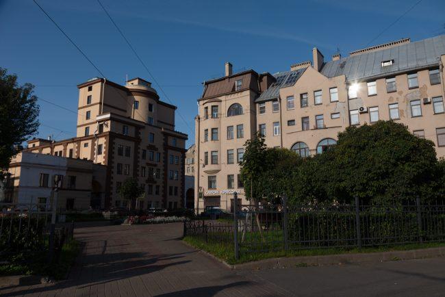 Церковь преподобного Алексия Человека Божия (Чкаловский проспект, дом 50)