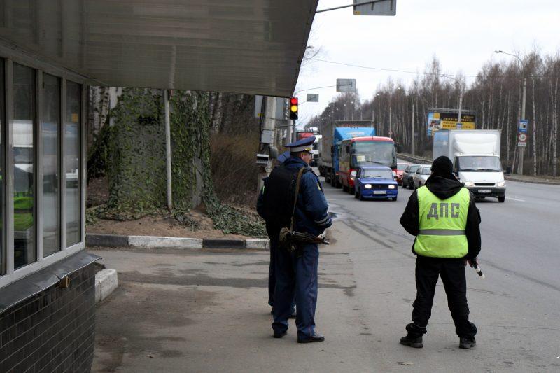 ДПС ГИБДД полиция стационарный пост Бугры
