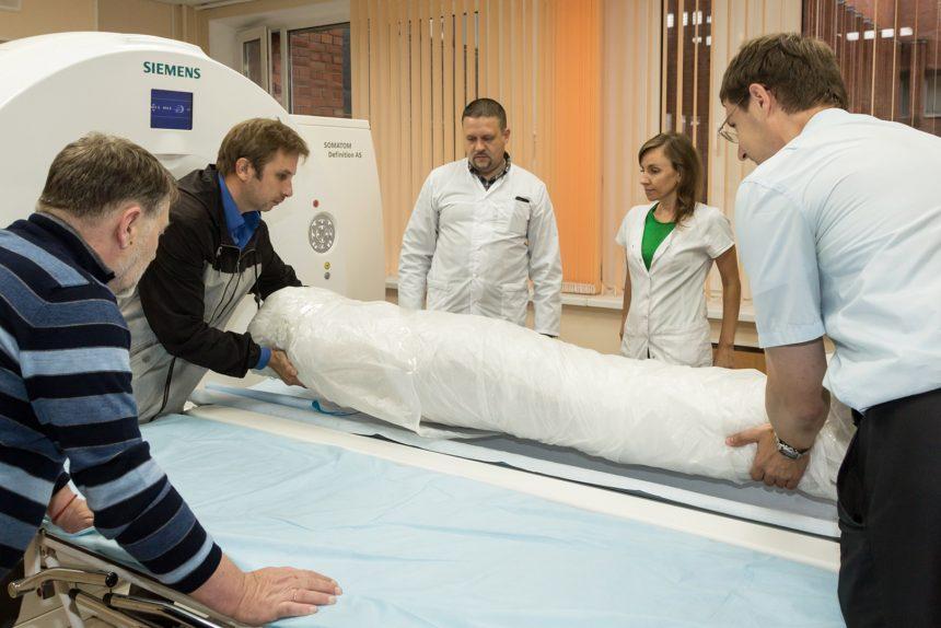 египетская мумия эрмитаж компьютерная томография клиническая больница 122
