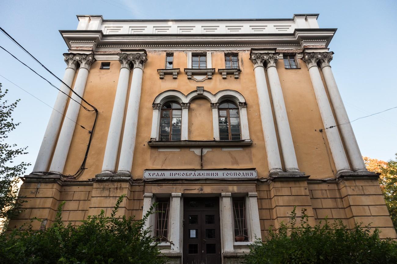 Храм Спаса Преображения Господня Гренадерского полка (Инструментальная улица, дом 3)