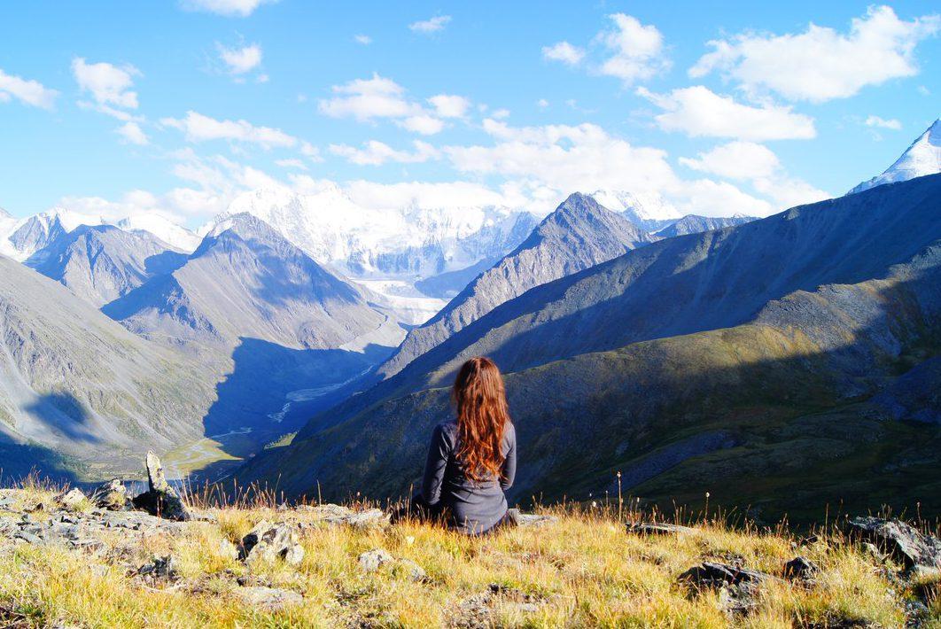 травница горы пейзаж