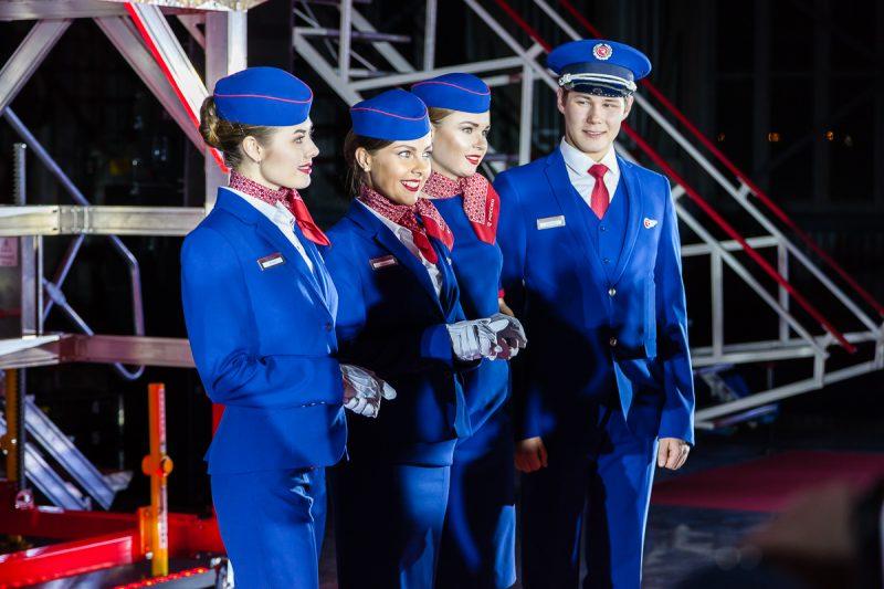 авиакомпания Россия форма стюардессы авиация