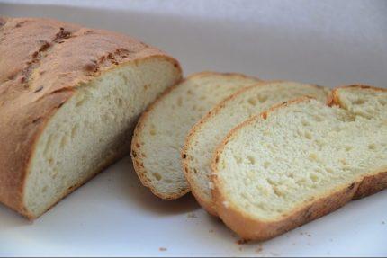 хлеб булка батон