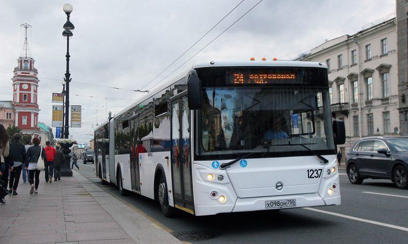 автобус маршрут 24 ЛиАЗ-621365