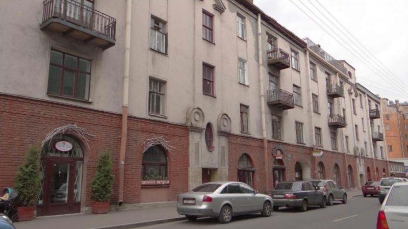 Малая Посадская 15А дом Шарля де Риц-а-Порта