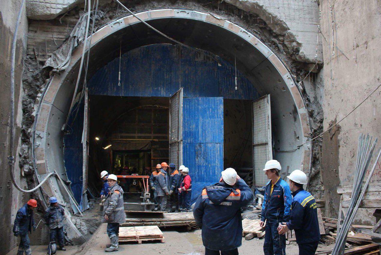 строительство метро новокрестовская