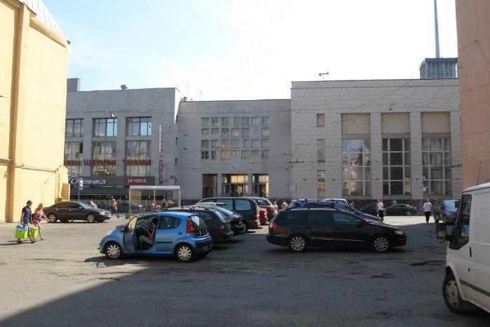 автостоянка площадь Ленина Финляндский вокзал
