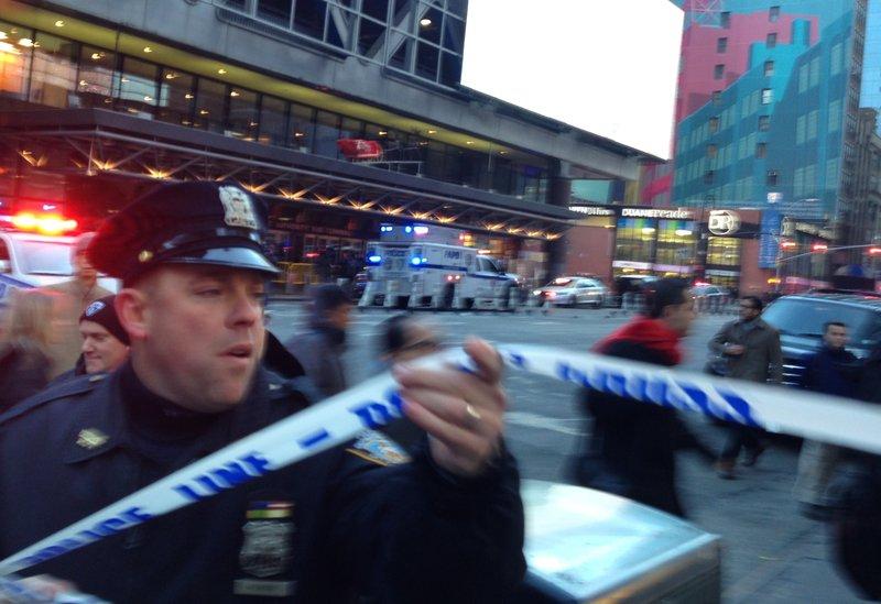 полиция США Нью-Йорк