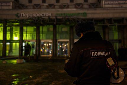 взрыв в магазине на Кондратьевском проспекте полиция