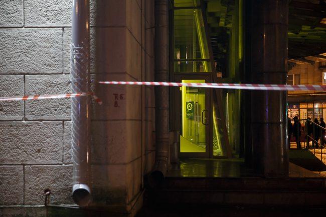 взрыв в магазине на Кондратьевском проспекте