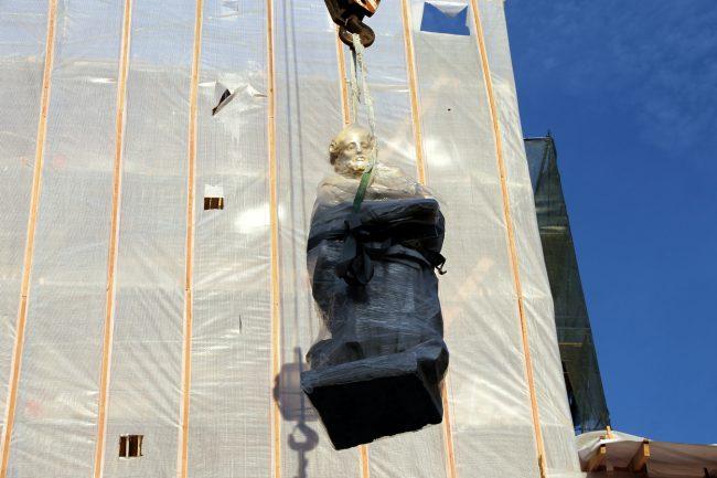 храм святой Екатерины скульптуры реставрация КГИОП