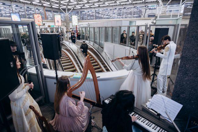 Классика в метро