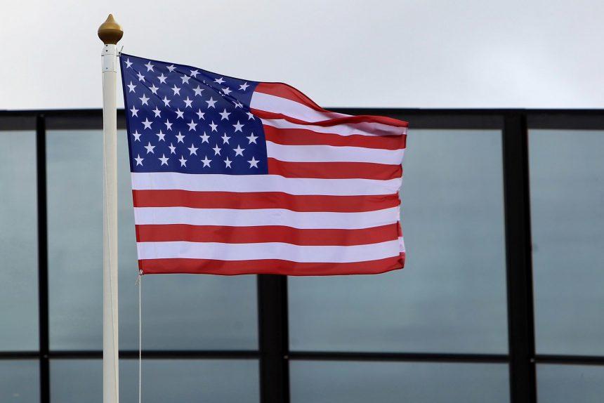 флаг США Соединённые штаты Америки