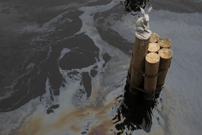 разлив нефтепродуктов Нева Кронверкский пролив