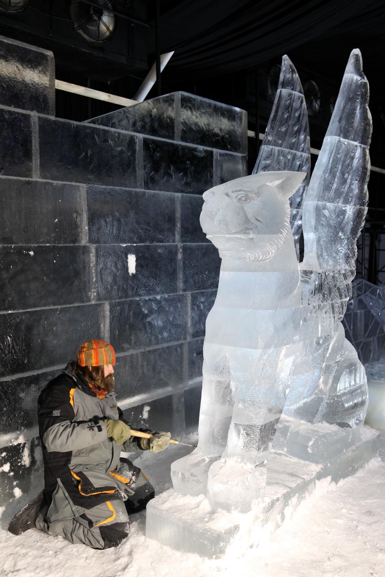 Фестиваль ледовых скульптур ice fantasy 2018