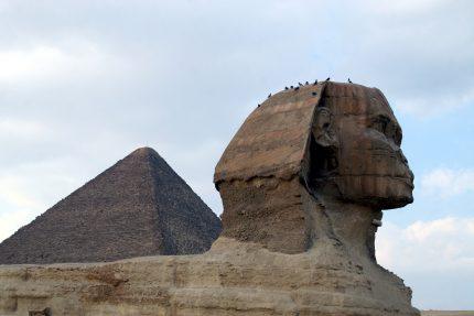 Египет Гиза пирамида Сфинкс