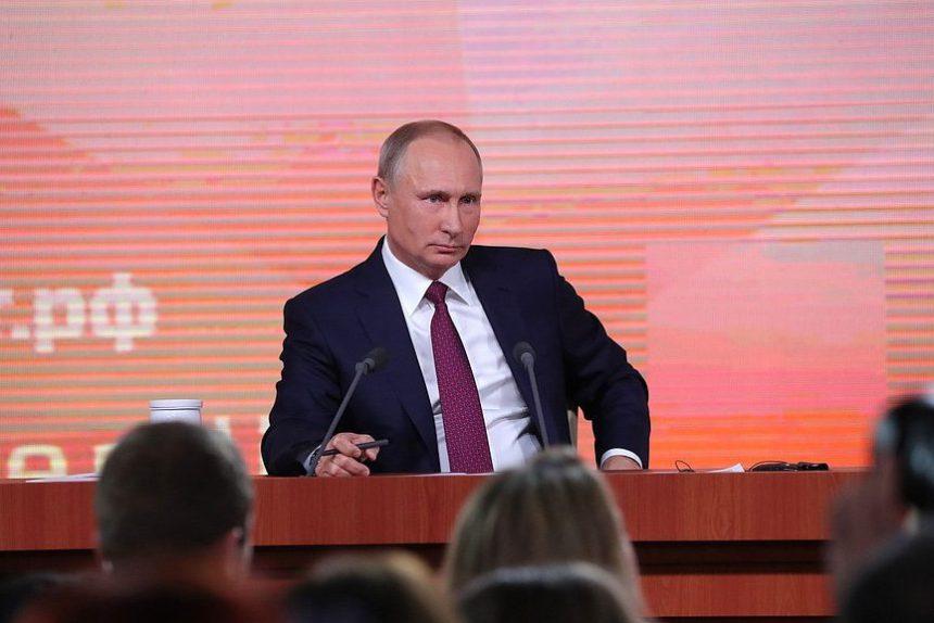 пресс-конференция Путин