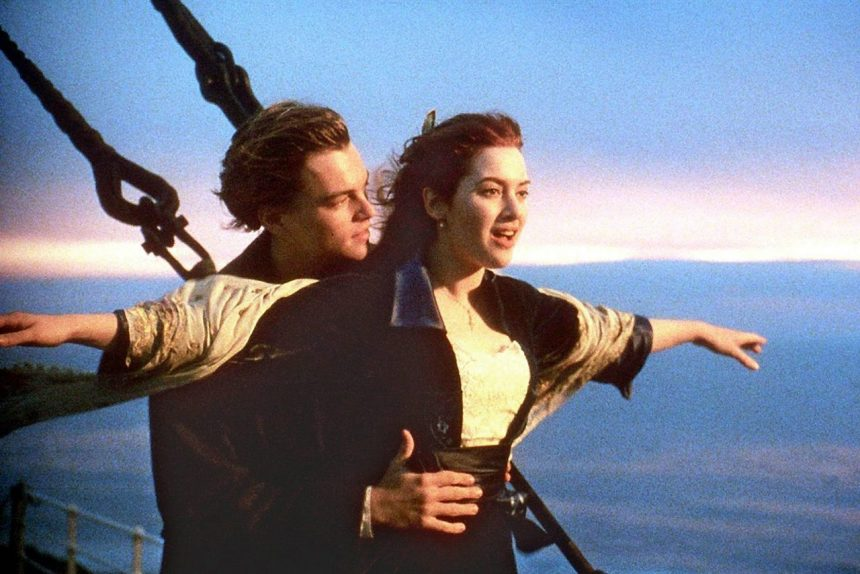 Титаник, Леонардо Ди Каприо, Кейт Уинслет, кино, фильм