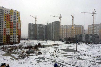 жилые комплексы новостройки жильё строительство Каменка